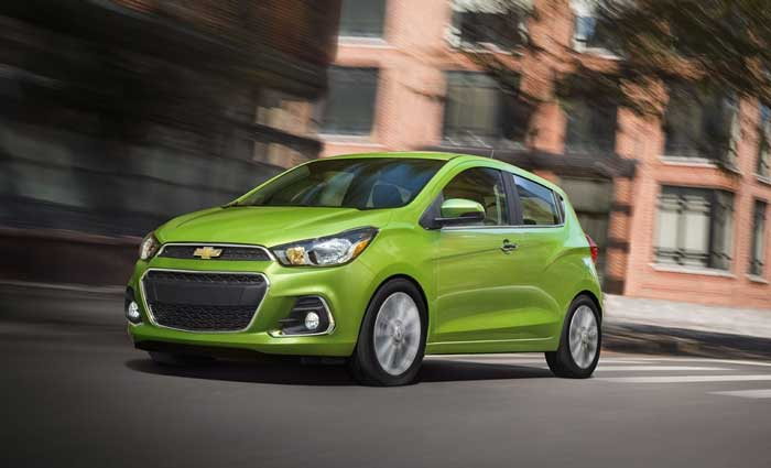 Chevrolet Spark 2016 Budget Friendly