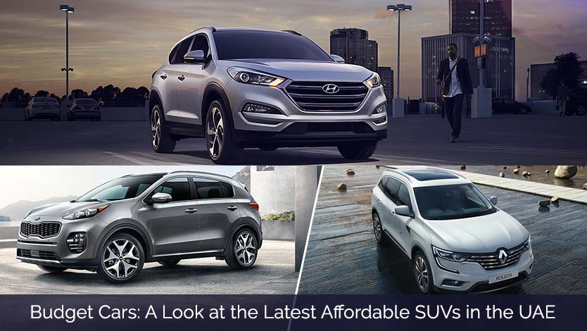 Budget Cars: A Look at the Latest Affordable SUVs in the UAE