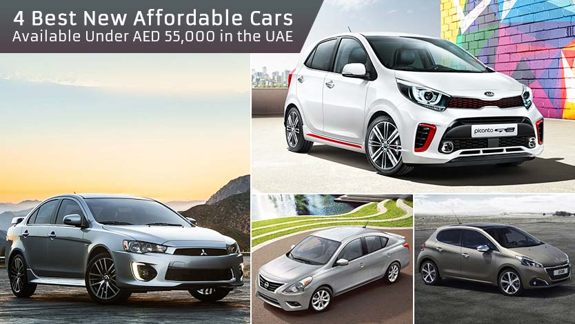 4 Best New Affordable Cars Available Under AED 55,000 in the UAE