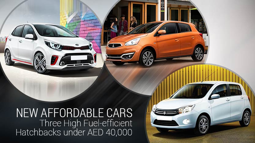 New Affordable Cars - Three High Fuel-efficient Hatchbacks under AED 40,000