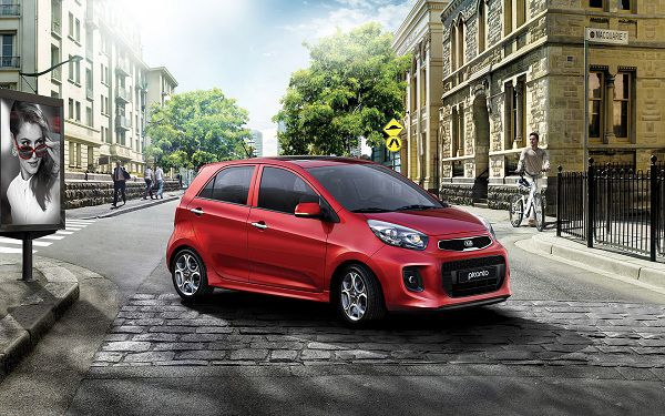 Best Affordable New Cars - 2017 Kia Picanto