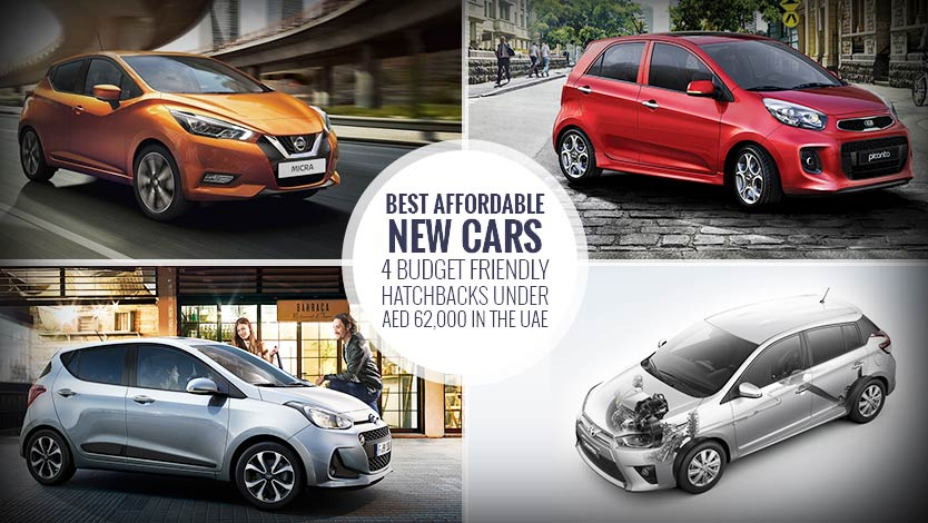 Best Affordable New Cars – 4 Budget Friendly Hatchbacks under AED 62,000 in the UAE