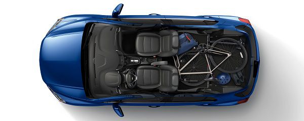 Cargo Space of Chevrolet Trax 2017