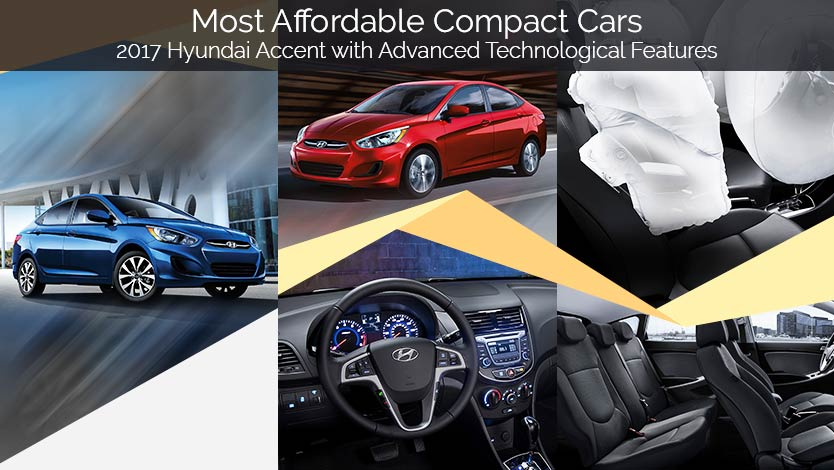 most affordable compact cars 2017 hyundai accent. Black Bedroom Furniture Sets. Home Design Ideas