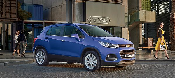 Exterior of Most Affordable Compact Cars - 2018 Chevrolet Trax