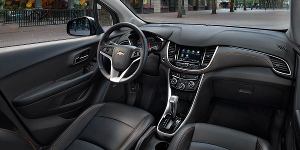 Interior of the 2018 Chevrolet Trax