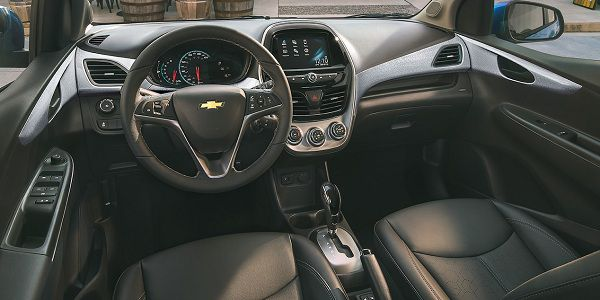Interior of the Chevrolet Spark 2018