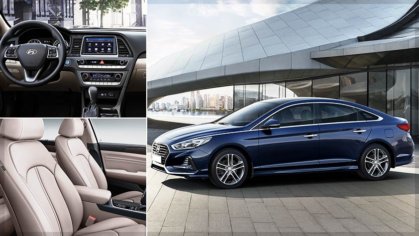 Affordable Midsize Cars –2018 Hyundai Sonata with a new Design and a Powerful Turbocharged Engine
