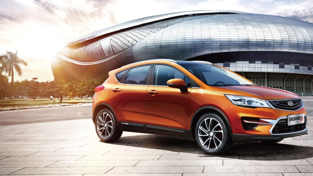 The 2018 Geely Emgrand GS Sport Crossover