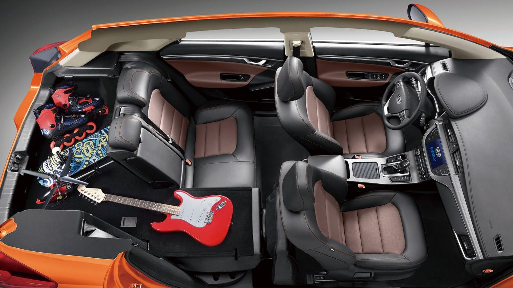 Interior of 2018 Geely Emgrand GS Sport Crossover