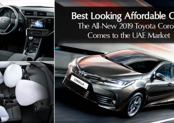 Best Looking Affordable Cars – The All-New 2019 Toyota Corolla Comes to the UAE Market