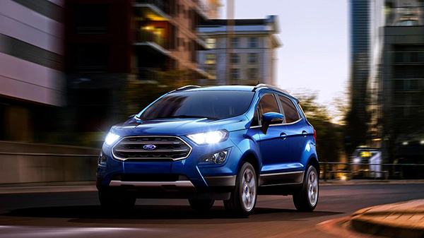 Design of the 2021 Ford EcoSport