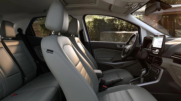 Interior of the 2021 Ford EcoSport