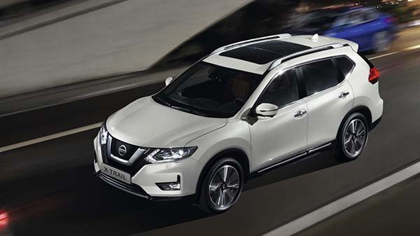 Exterior of the 2021 Nissan X-Trail